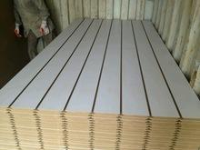 paper white melamine slotted mdf