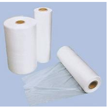 hot sale suppermarket food packing Clear plastic flat bag on roll