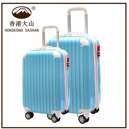 AT8072 HKDASHAN Hot Sale Luggage Bag with Spinner Wheels TSA Lock Zipper Luggage