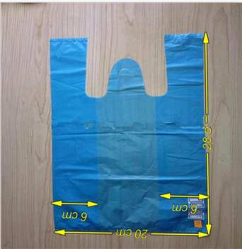 BLUE HDPE Plastic Bagplastic bag high quality plastic bags