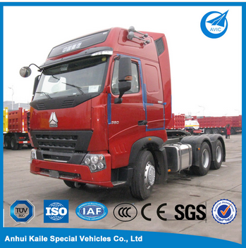 Sinotruk Howo Tractor Trailer Truck Head For Sale
