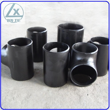 ASME B 16.9 8 inch carbon steel pipe tee