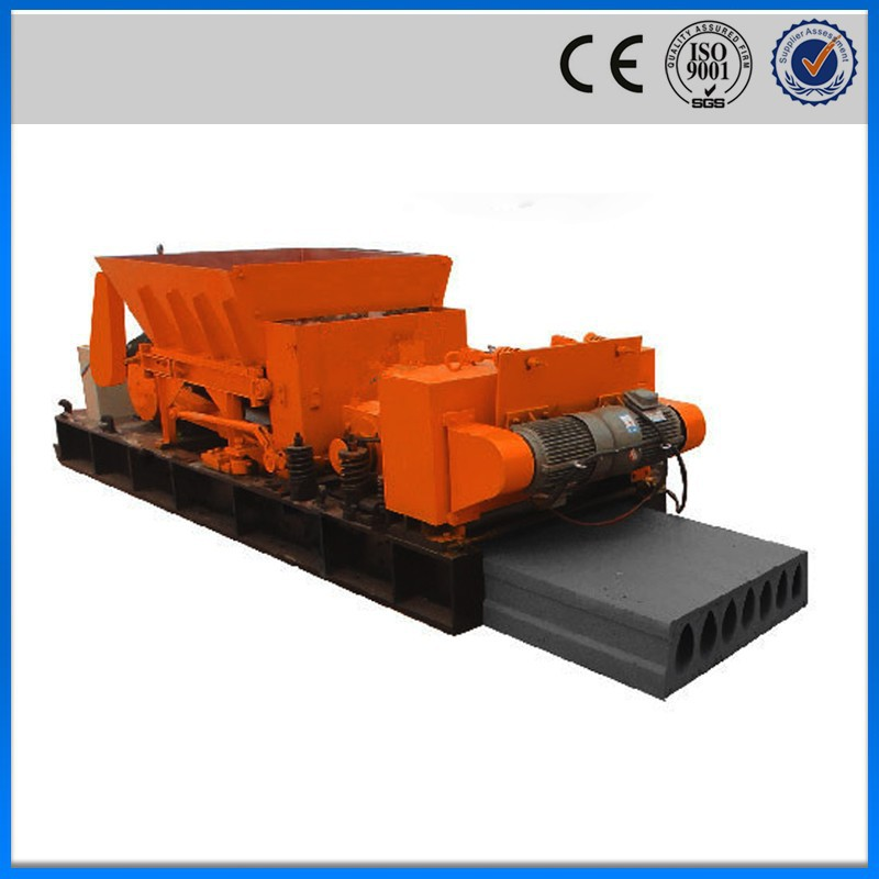 Construction Concrete Hollow Core Floor Panel Machine
