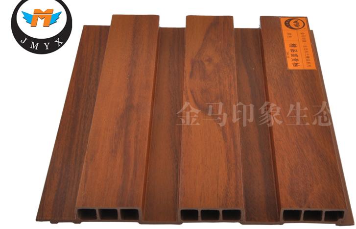 Golden Horse Impression Ecological Wood Plastic Composite WPC Ceiling Panel