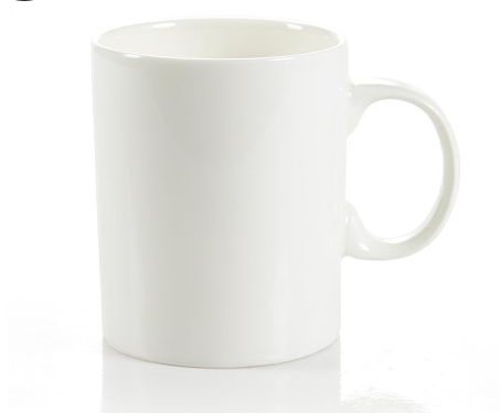 Easter V shape mug fine bone china