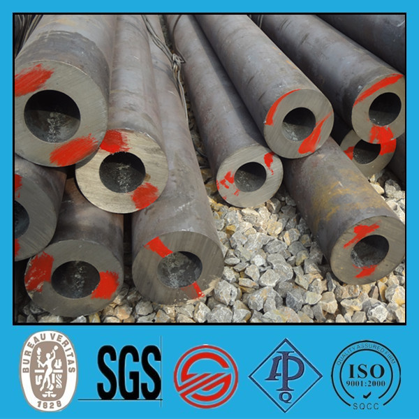 DIN 1629 standard ST42 grade seamless steel pipes