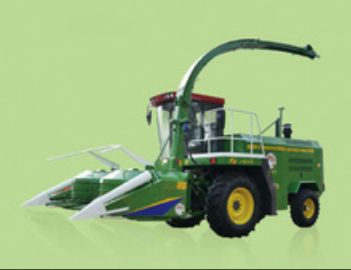 9QSZ-3000 Green (Yellow) Forage Harvester Glutinous indian millet China Shandong Farm equipment Germany champion JAGUAR 900 serie
