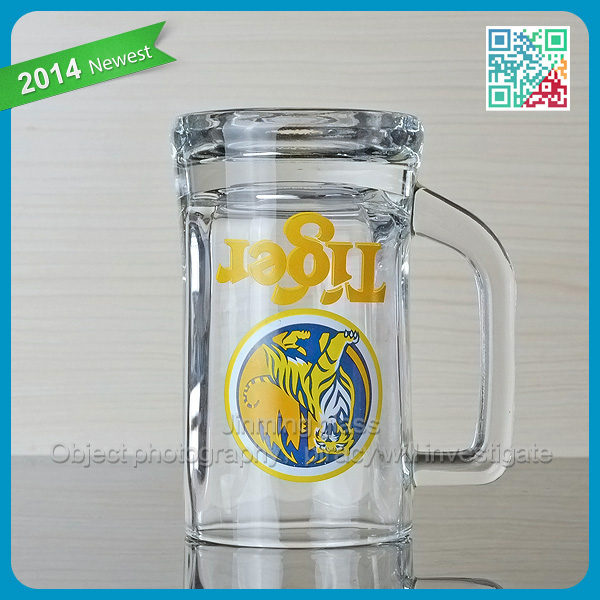 Tiger stanley cup beer mug handle
