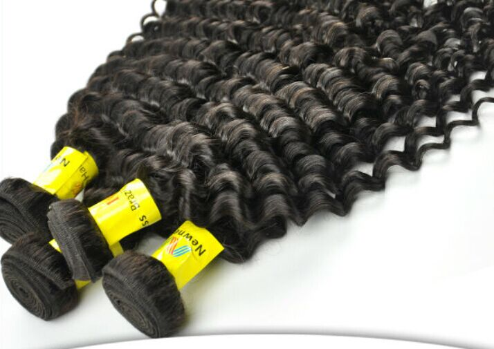 curly hair extension for black women kinky curly micro bead hair extension