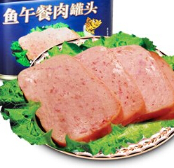 340g Canned Fish Luncheon Meat,Good taste canned luncheon meat