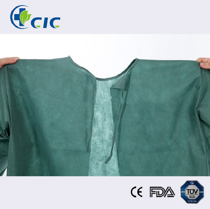 Tissue Poly Disposable X-Ray Patient Gowns , IV gowns