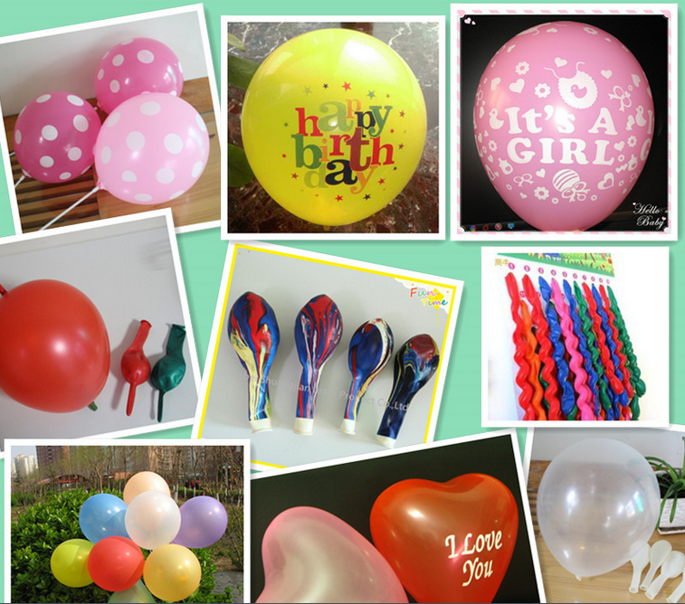 2015 newest factory direct sale happy birthday pattern globos