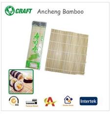 100% bamboo sushi rolling mat