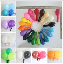 party decor latex balloon flying helium balloons