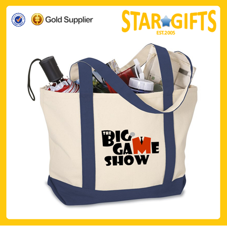 Wholesale Eco-friendly Cheap Reusable Cotton Shopping Tote Bag