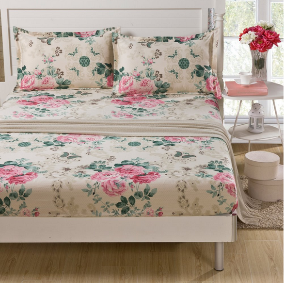 2015 new products bed cover set made in China 100% cotton bed cover wholesale bed mattress cover