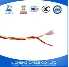 Copper conductor PVC insulated flexible twisting connector wire and cable