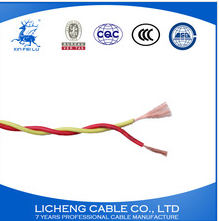 house wiring PVC insulated copper twisted wire 2x0.5mm2