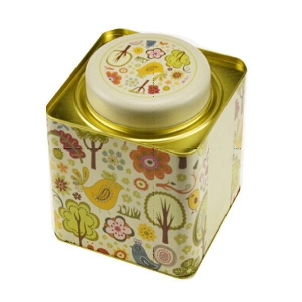 Custom Hot Sale travel Packaging metal Tea Box
