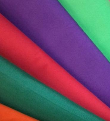 plain dyed poplin fabric