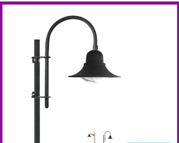 China suppliers 2015 hot sale antique aluminum garden lighting