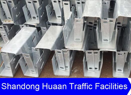 Hot Sale Highway Steel Guardrail Block