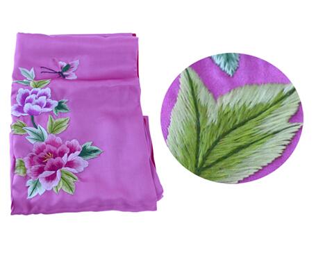 Traditonal beautiful fashion silk scarf