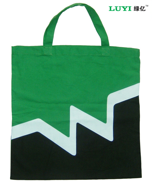 Promotional cotton canvas bag for shopping