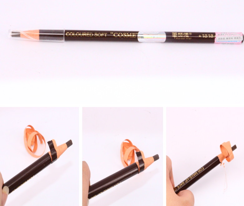OKSL Peeling makeup eyebrow pencil ,five color makeup for you
