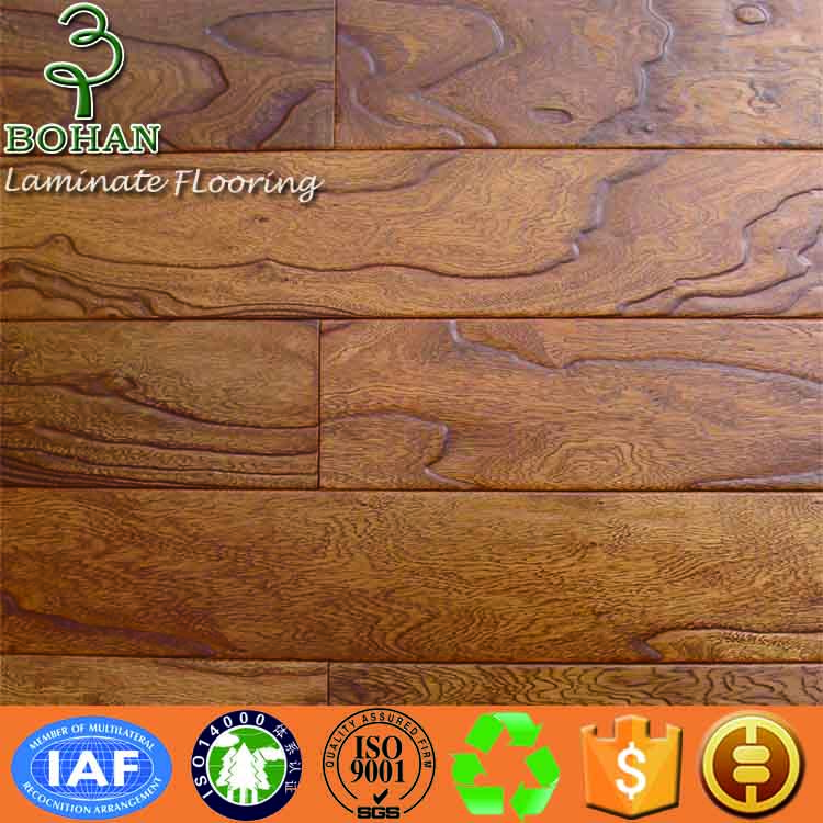 Water proof high gloss laminate flooring AC4 AC3 12mm