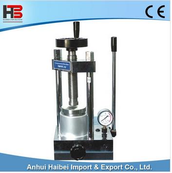 HB-YLJ-12T 12T manual press machine powder tablet press