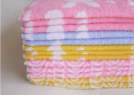 China wholesale 100% cotton lovely rabbit baby towel