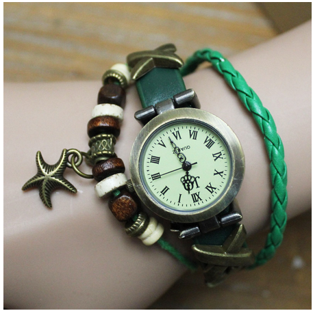 2015 Free Shipping Quartz Watches Brand Luxury Heart Vintage Retro Women Dress Watch Ladies Smart Wrist watches