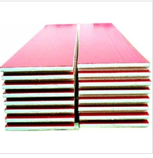 good price Color steel plate Rockwool sandwich panel factory