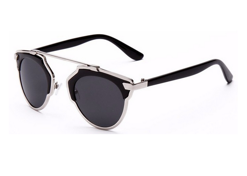 2015 New Arrival Metal Italy Design Women ce Sunglasses So Real Glasses