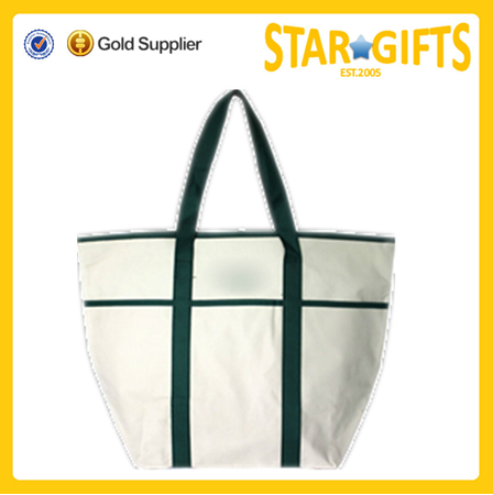 China direct supply recyclable canvas shopping tote bag