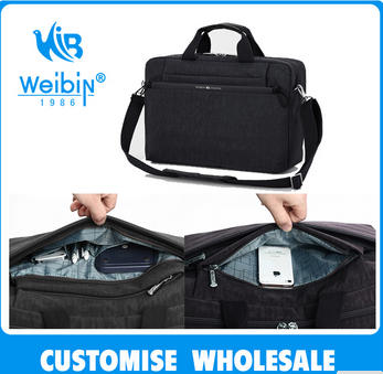 Hebei weibin new product laptop bag with durable waterproof nylon