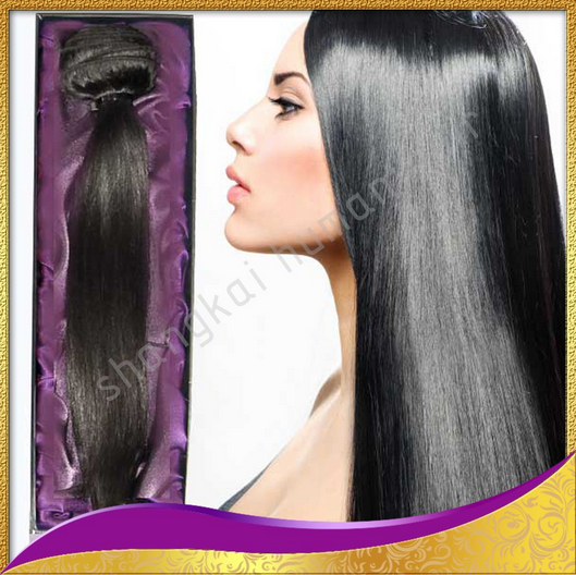 New Products Unprocessed Wholesale 100% Virgin Indian Hair, Human Hair, Indian Flip in Hair Extensions