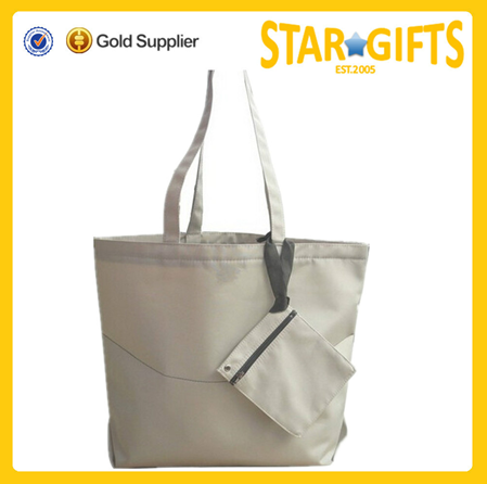 Factory Wholesale durable nylon shopping beach tote bag