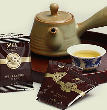516g whole embryo Black Tartary Buckwheat Tea in cold mountains ares---easy slim tea slimming tea slim tea