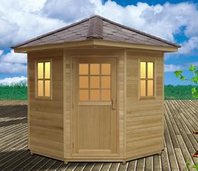 2015 best outdoor sauna room outdoor sauna cabin with CE ETL