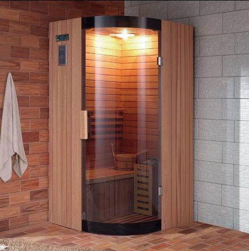 luxury traditional sauna bath