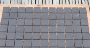 Bathrooms tiles design natural black mosaic slate