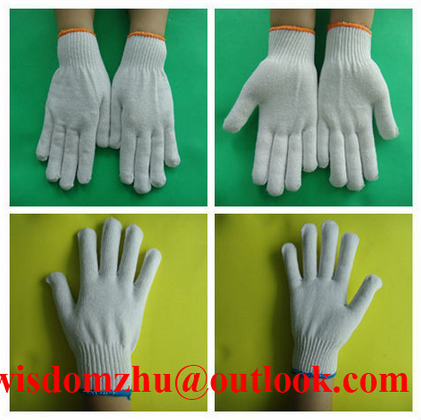 Hight Quality Safety Products Mens Cotton Gloves For Constrction Work