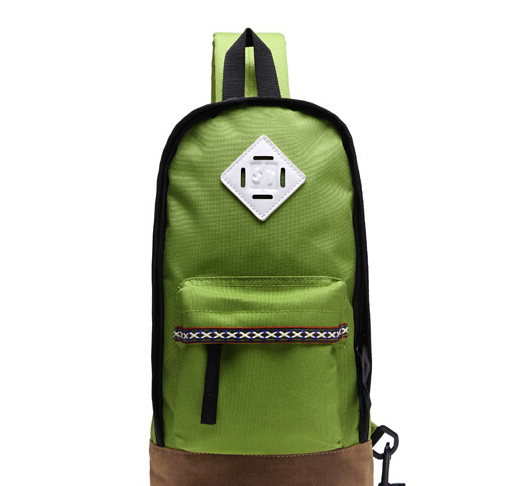 China supplier fashionable multi-function colorful nylon chest bag