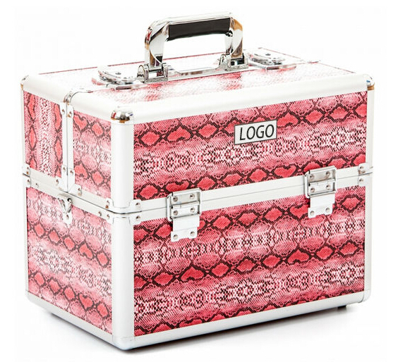 aluminum with compartments carrying hairdressing beauty case LT-CM110