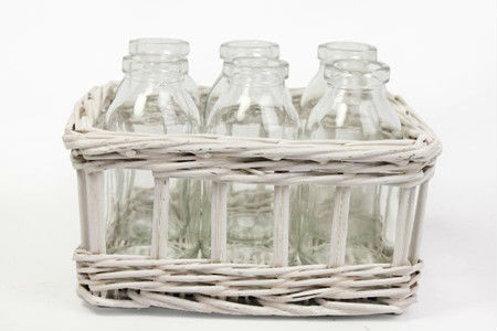 White Willow Wicker Baskets. Baskets.