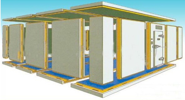 PU Insulated Panel for Freezer Room