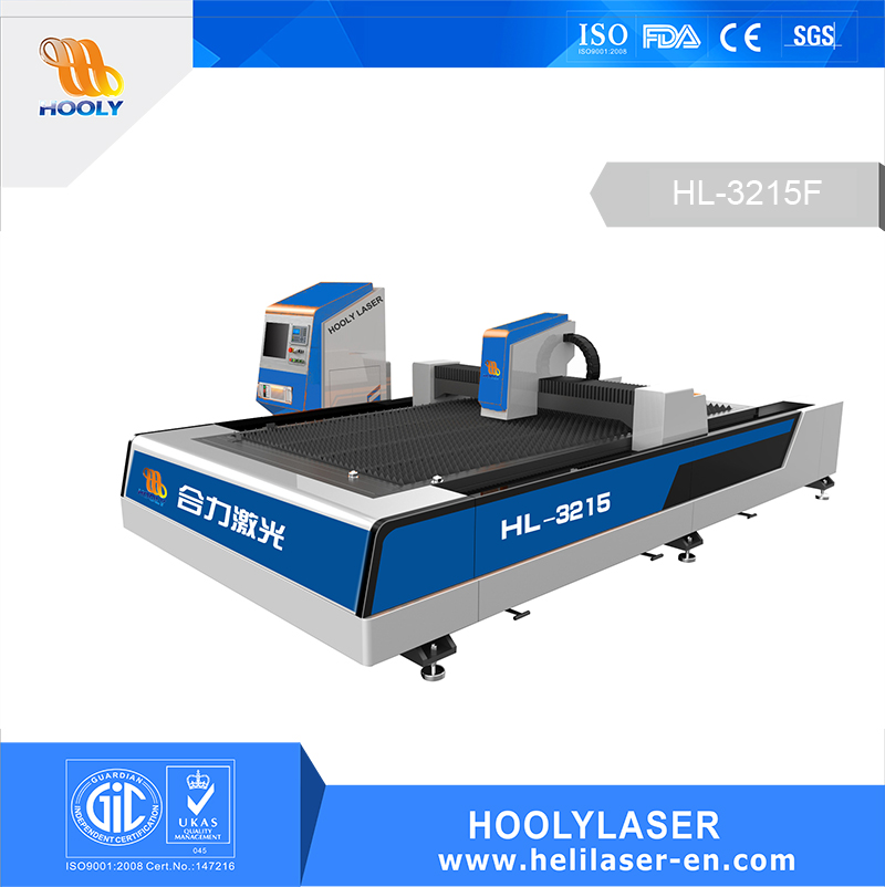 Hoolylaser fiber metal  laser cutting machine