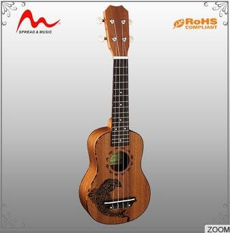 Manufacturer supply plastic toy ukulele with good quality